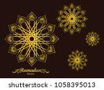 ramadan kareem illustration... | Shutterstock .eps vector #1058395013