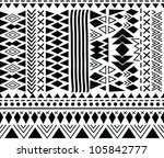 abstract geometric seamless... | Shutterstock .eps vector #105842777