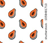 vector seamless pattern with...   Shutterstock .eps vector #1058481713