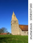 Small photo of Dry Doddington,Lincolnshire.UK February 27th 2013.Locals believe the tower of St James church tilts more than leaning tower of Pisa.The tower of the church is said to lean between 4.9 and 5.0 deg