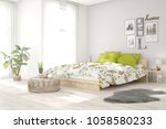 idea of white minimalist... | Shutterstock . vector #1058580233