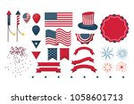 independence day collection | Shutterstock .eps vector #1058601713