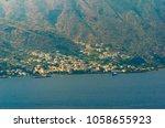 Small photo of Stunning view of Santa Maria Salina in Salina. Aeolian islands, Sicily