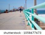 a stroll along the pier in...