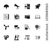 science icon set. can be used... | Shutterstock .eps vector #1058684063