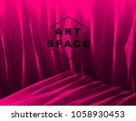 vector surreal illusion art for ...   Shutterstock .eps vector #1058930453
