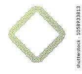 victorian art vector rhomb... | Shutterstock .eps vector #1058933813