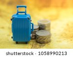 travel concept. close up of... | Shutterstock . vector #1058990213