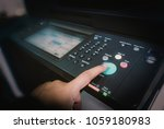 man touch startup copying paper ... | Shutterstock . vector #1059180983