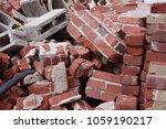 Red Brick Construction Debris...