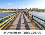 ahlbeck  germany   july 5  2014 ... | Shutterstock . vector #1059235703