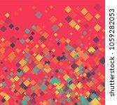 rhombus backdrop minimal... | Shutterstock .eps vector #1059282053