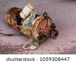 vintage antique automotive... | Shutterstock . vector #1059308447