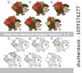 the educational kid matching... | Shutterstock .eps vector #1059376277