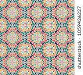 vector seamless pattern  based...   Shutterstock .eps vector #1059426227
