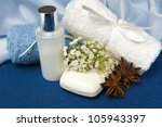natural products for body care... | Shutterstock . vector #105943397