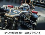 VALENCIA, SPAIN - JUNE 23: Kimi Raikkonen in the Formula 1 Grand Prix of Europe, Valencia Street Circuit. Spain on June 23, 2012 - stock photo
