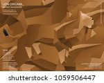 lion origami abstract... | Shutterstock .eps vector #1059506447