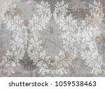 vector damask pattern element.... | Shutterstock .eps vector #1059538463