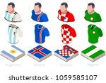 russia 2018 soccer world cup... | Shutterstock .eps vector #1059585107