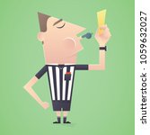 soccer   football referee show...