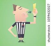 soccer   football referee show...