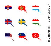 icon flag with flag of... | Shutterstock .eps vector #1059660827