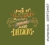 funny hand drawn vector... | Shutterstock .eps vector #1059724457