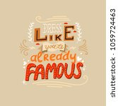 funny hand drawn vector... | Shutterstock .eps vector #1059724463