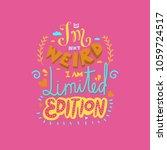 funny hand drawn vector... | Shutterstock .eps vector #1059724517