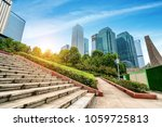 empty  modern square and... | Shutterstock . vector #1059725813