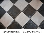 paterrn of old marble black and ... | Shutterstock . vector #1059759743