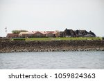 view of the hallig hooge ...