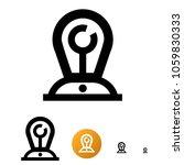 slogan manufacturer icon or...   Shutterstock .eps vector #1059830333