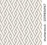 geometric seamless pattern.... | Shutterstock .eps vector #1059856967