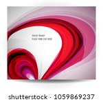 abstract background with... | Shutterstock .eps vector #1059869237