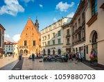krakow  poland   july 01  2015... | Shutterstock . vector #1059880703