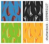 tribal hand drawn background ... | Shutterstock .eps vector #1059892127