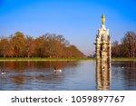 diana fountain at bushy park in ... | Shutterstock . vector #1059897767
