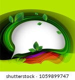 abstract nature background... | Shutterstock .eps vector #1059899747