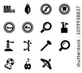 solid vector icon set  ... | Shutterstock .eps vector #1059938837