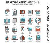 health care  medicine. first... | Shutterstock .eps vector #1059997553