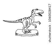t rex cartoon | Shutterstock .eps vector #1060028417