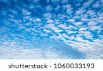 blue cloudy sky panorama | Shutterstock . vector #1060033193