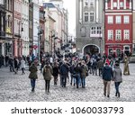 poznan  poland  old town  2... | Shutterstock . vector #1060033793