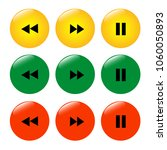 set of colored buttons icons... | Shutterstock .eps vector #1060050893
