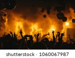 dj night club party rave with... | Shutterstock . vector #1060067987