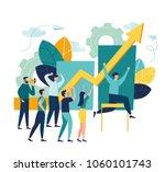 vector business illustration ... | Shutterstock .eps vector #1060101743