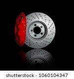disc brakes  stopping the break ...   Shutterstock . vector #1060104347