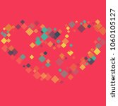 rhombus backdrop minimal... | Shutterstock .eps vector #1060105127